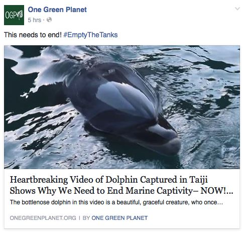 Facebook Reactions - Environmental issue