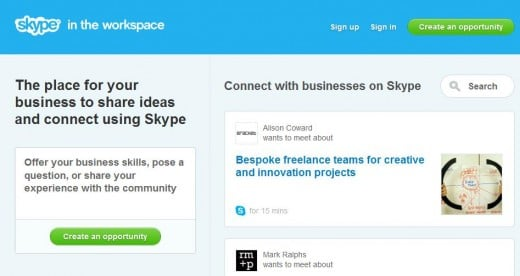 Bc Review: Skype in the Workspace