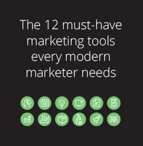 Ebook: Insider's guide to the 12 must-have marketing tools every modern marketer needs