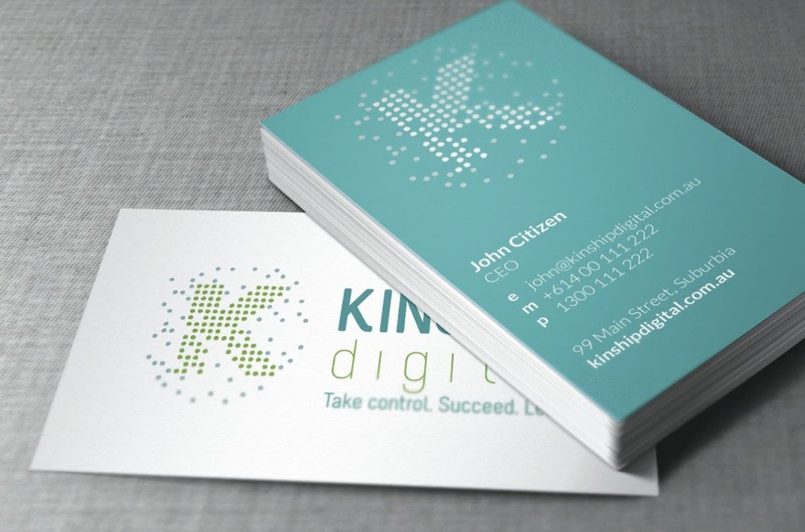 Kinship brand strategy and identity