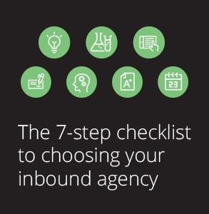 Ebook: 7-step checklist to choosing your inbound agency
