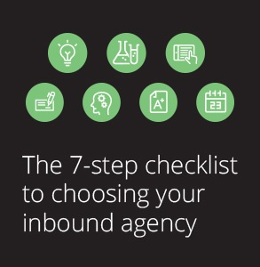 7-step checklist to choosing your inbound agency
