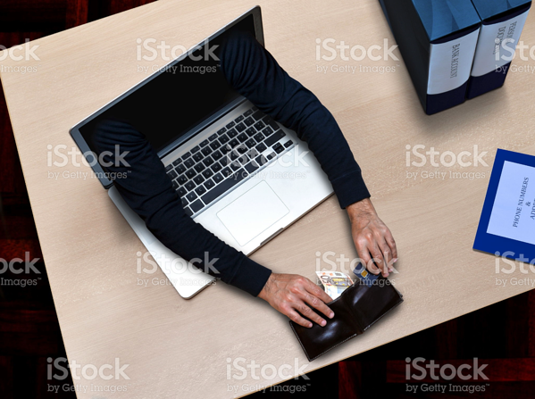 funny istock photo hacker security