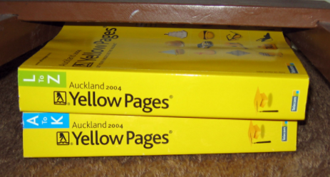 Yellow Pages: remember them?