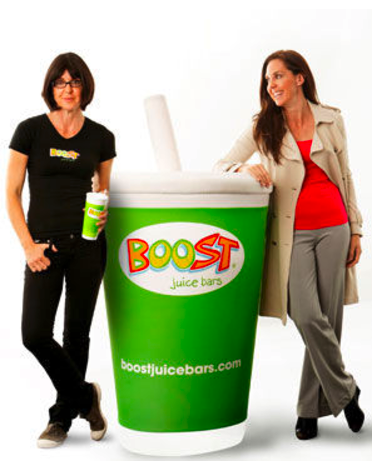 Boost Juice founder Janine Allis on Undercover Boss Australia.