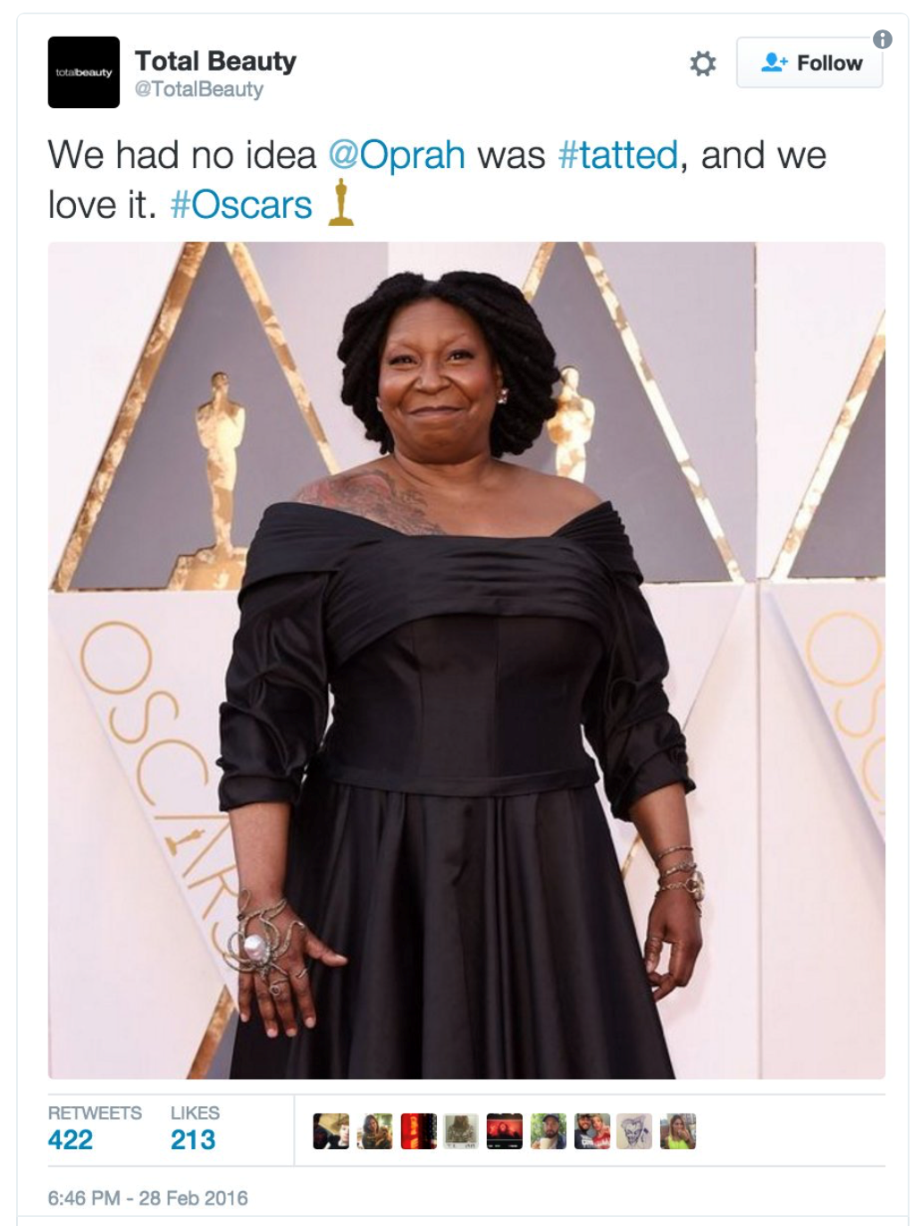 Hire an intern for Social Media and get #Thats-Not-Oprah