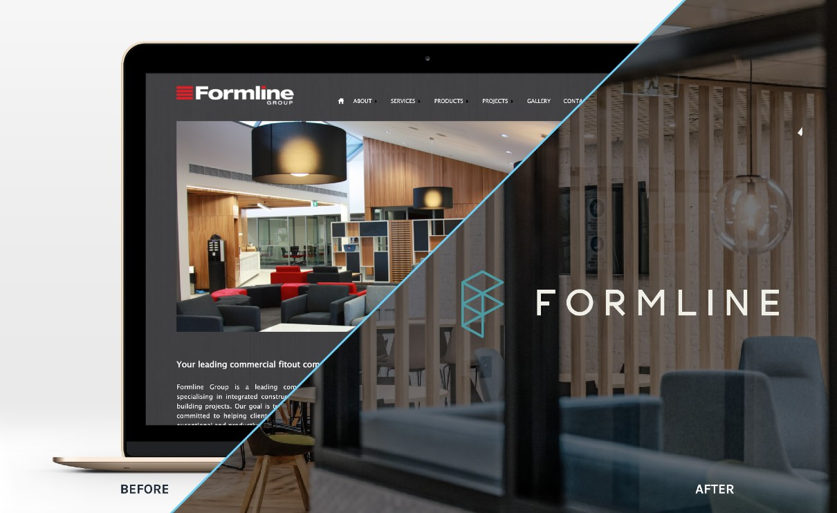 Formline brand before and after