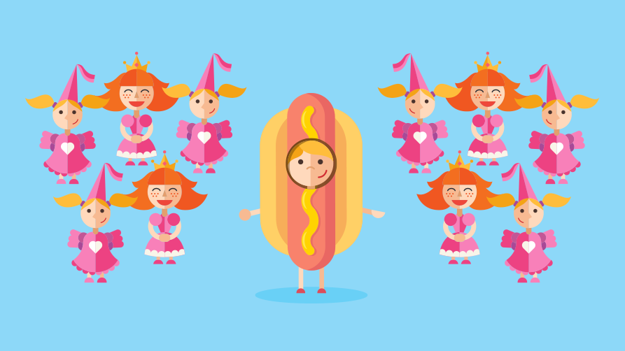Position your b2b tech business for growth (or find your hotdog in a sea of princesses)