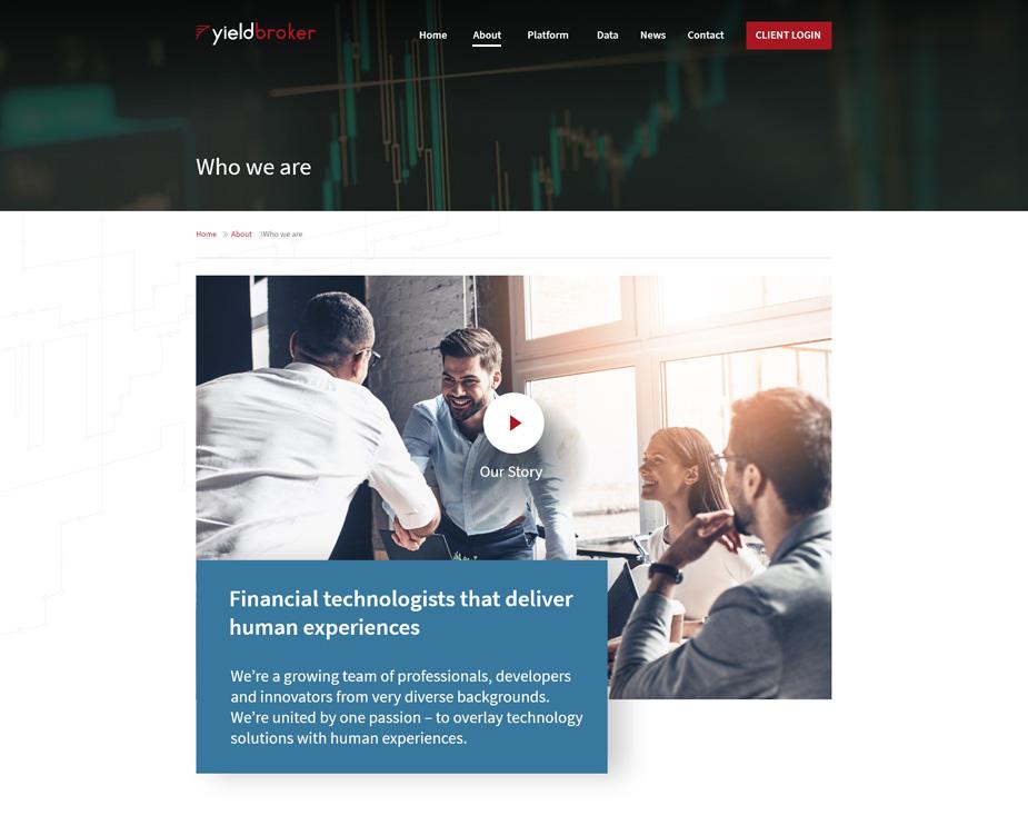 Yieldbroker website 1